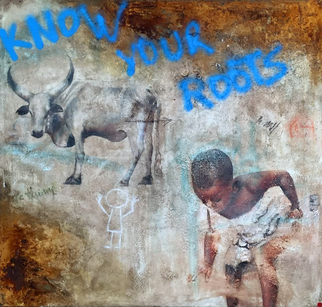 AFRICA 7 / 180x170cm