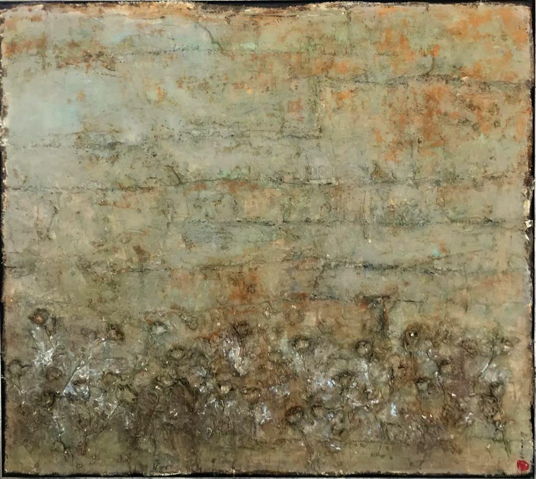 HOMENAJE A KIEFER / 174 x 194 cm