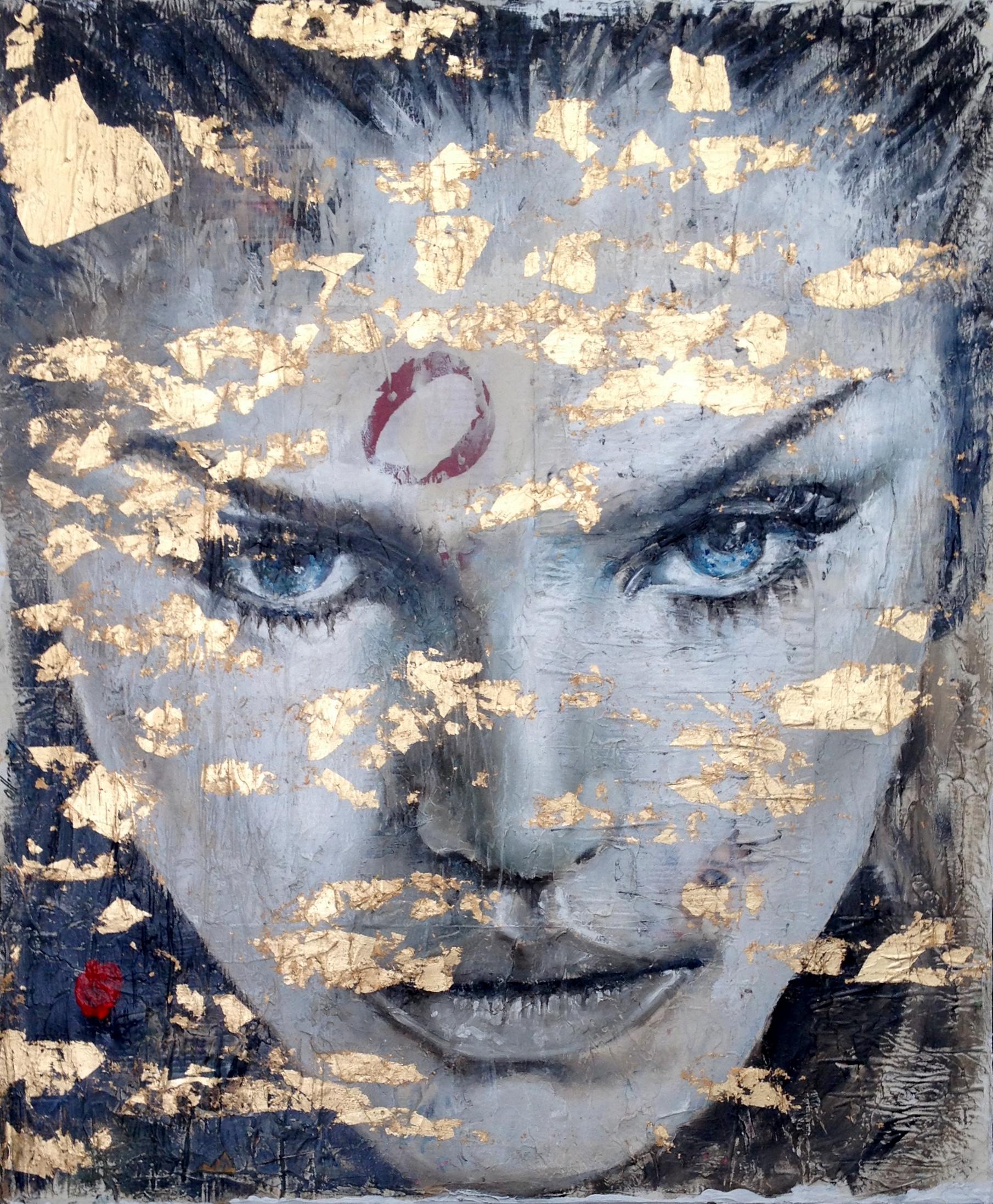 WOMAN VI / 111 x 91 cm