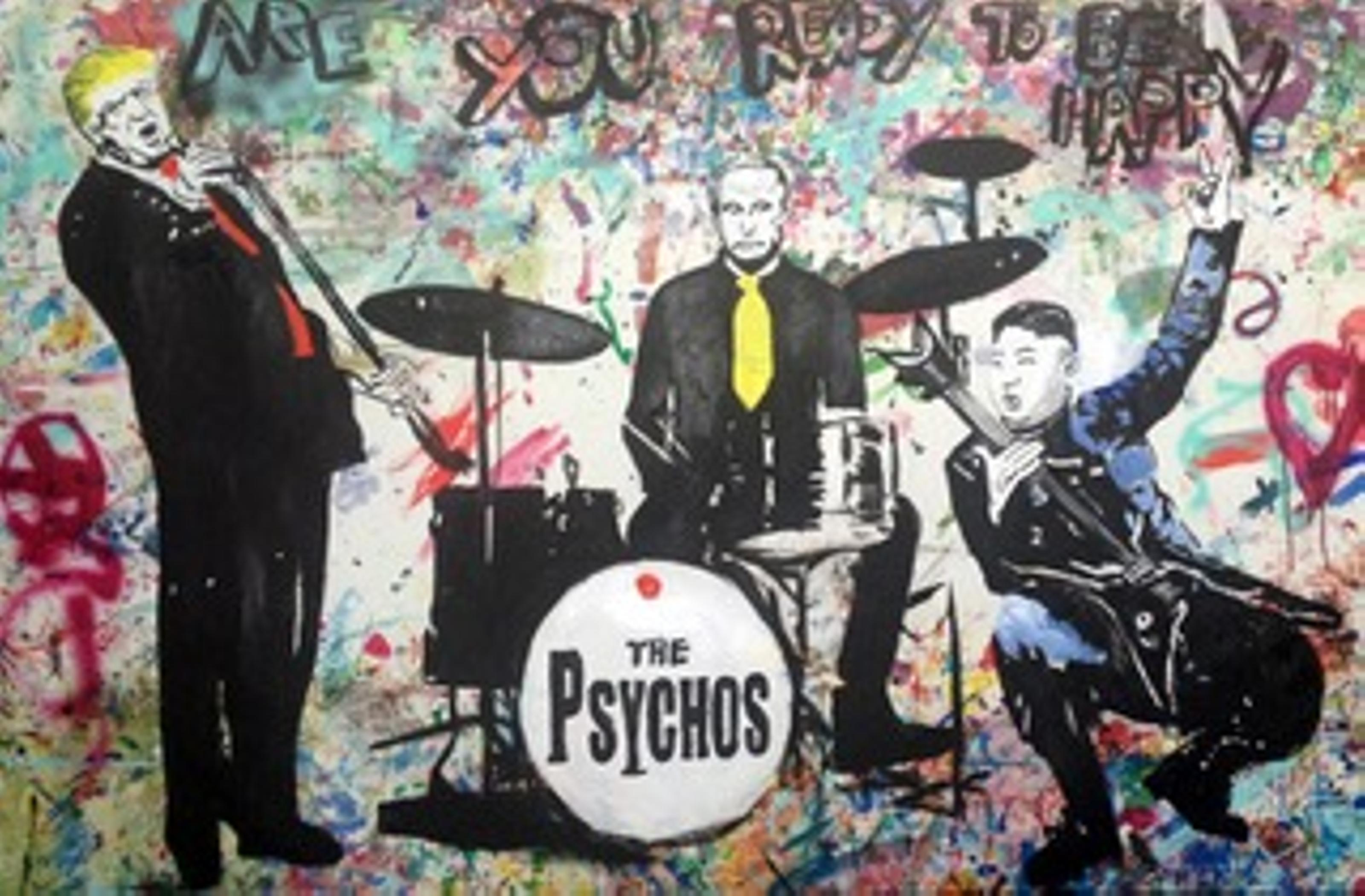 THE PSYCHOS / 130x200